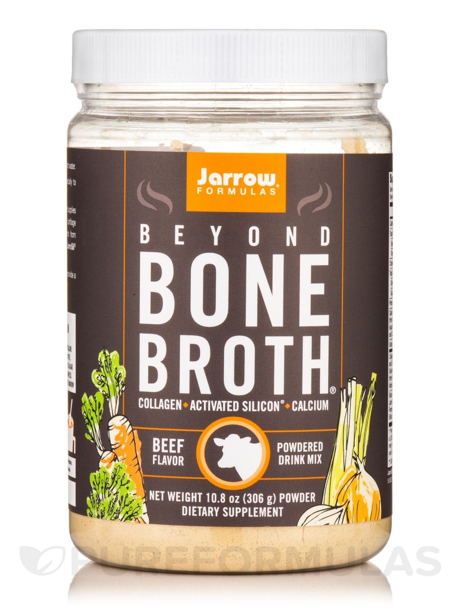 Beyond Bone Broth®, Beef Flavor - 10.8 oz (306 Grams)