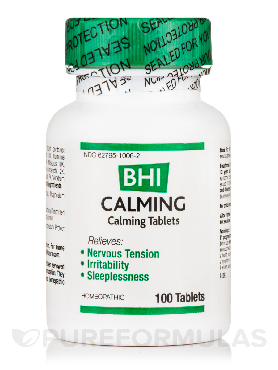 BHI Calming Tablets - 100 Tablets