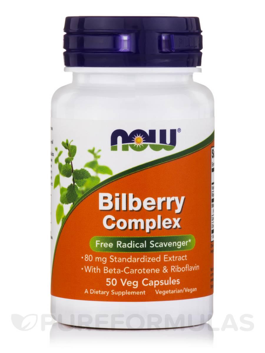Bilberry Complex - 50 Veg Capsules