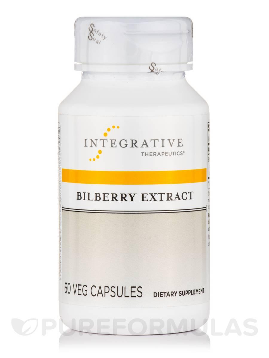 Bilberry Extract - 60 Veg Capsules