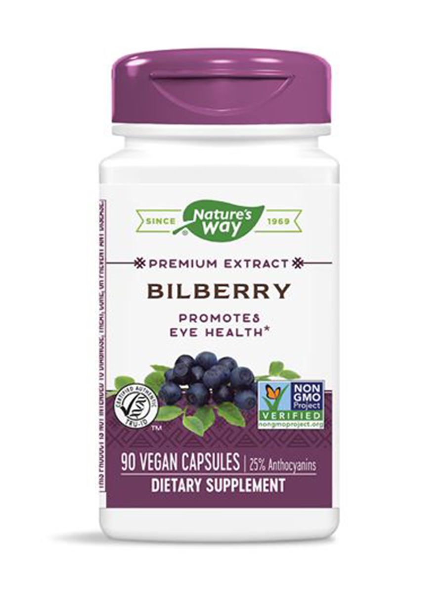 Bilberry Standardized - 90 Capsules