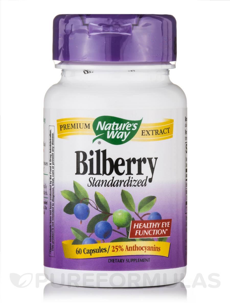 Bilberry - 60 Capsules