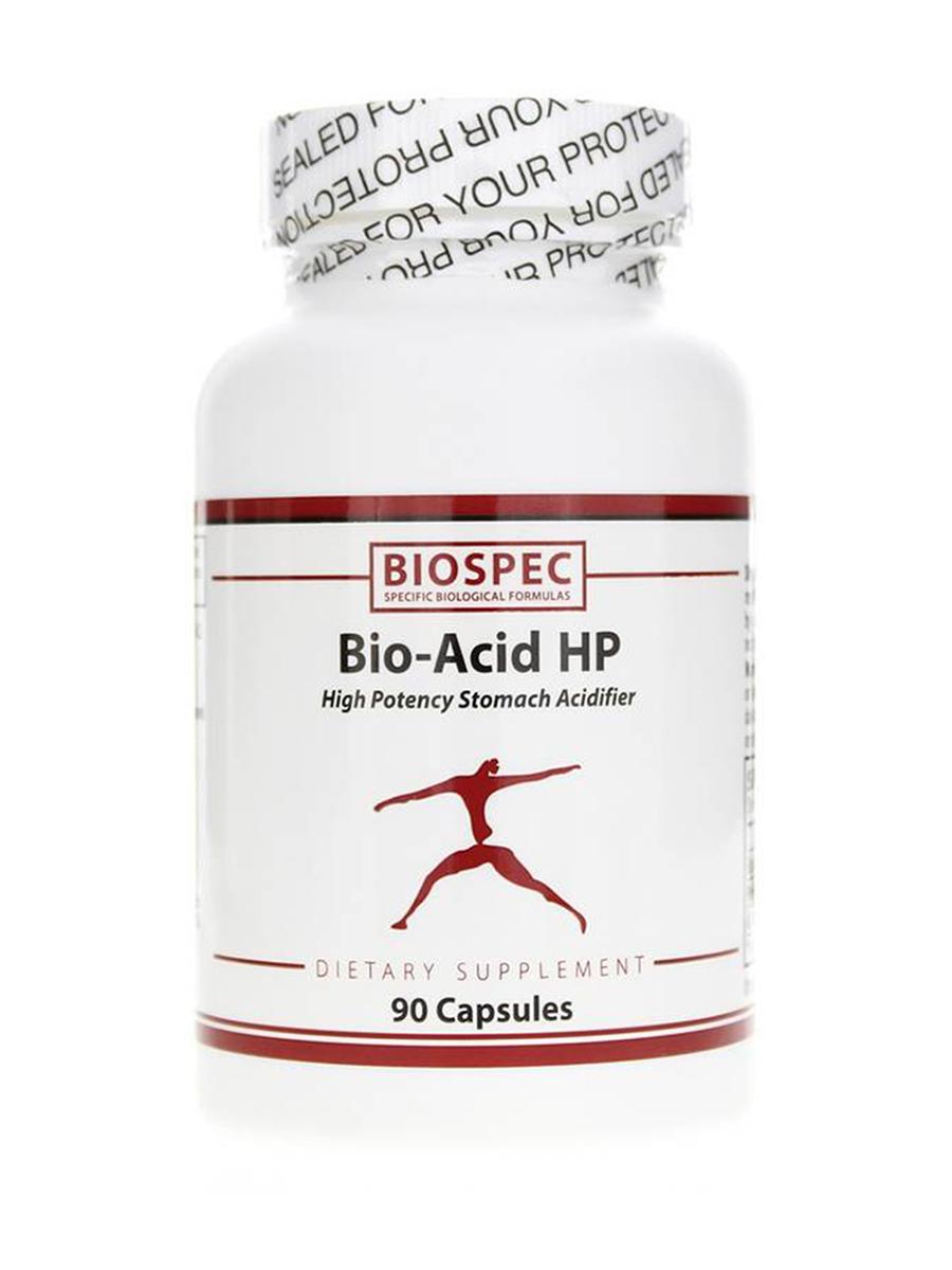 Bio-Acid HP (Stomach Acidifier) - 90 Capsules