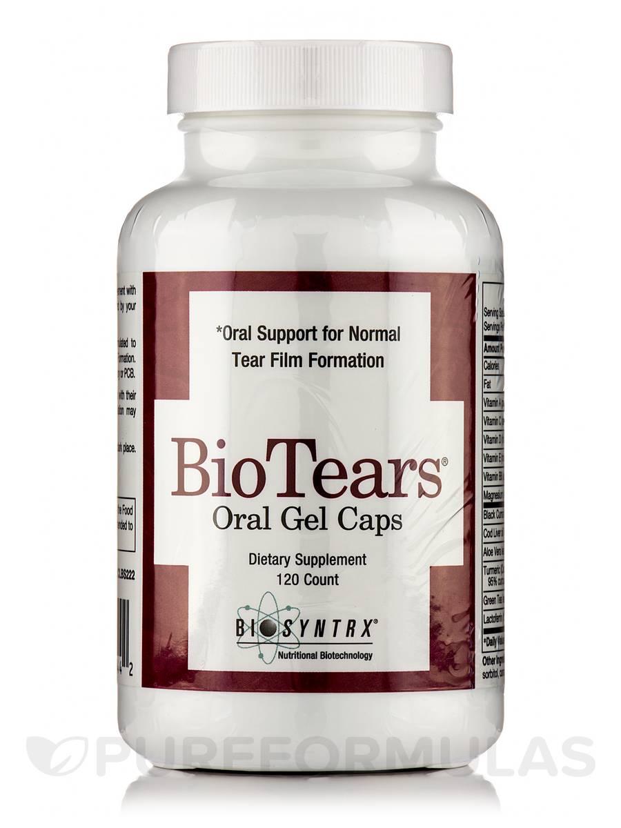Bio Tears Oral GelCaps - 120 Capsules