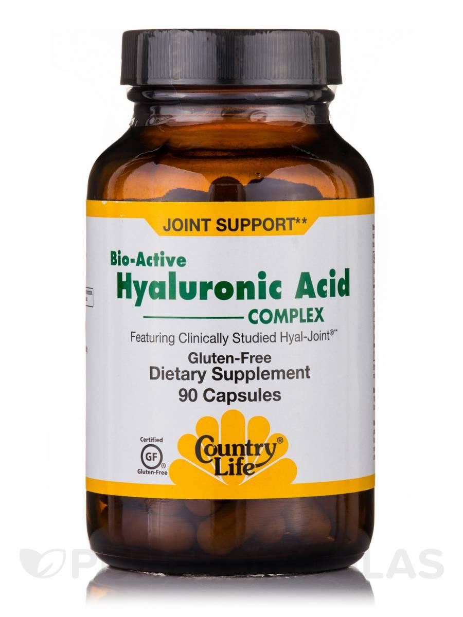 Bio-Active Hyaluronic Acid Complex - 90 Capsules