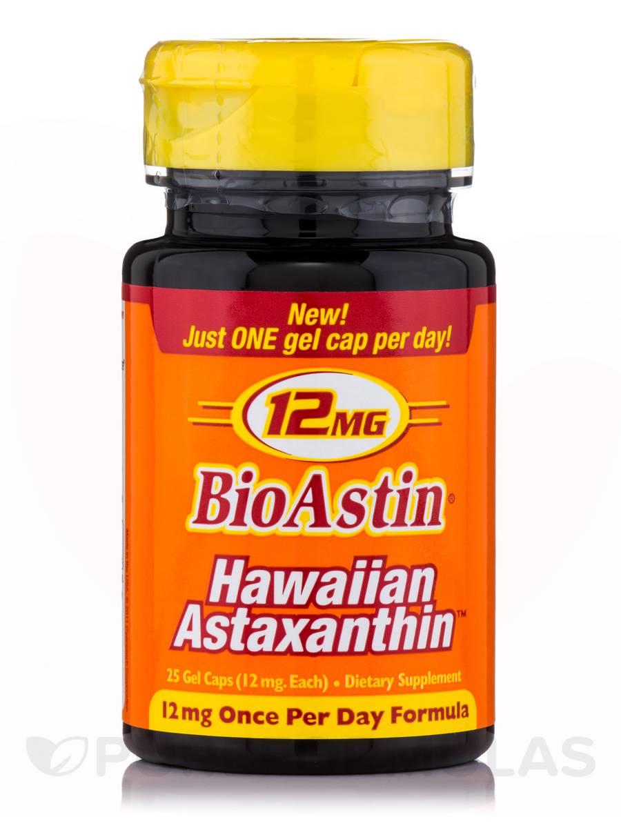 Bioastin Astaxanthin 12 mg - 25 Capsules