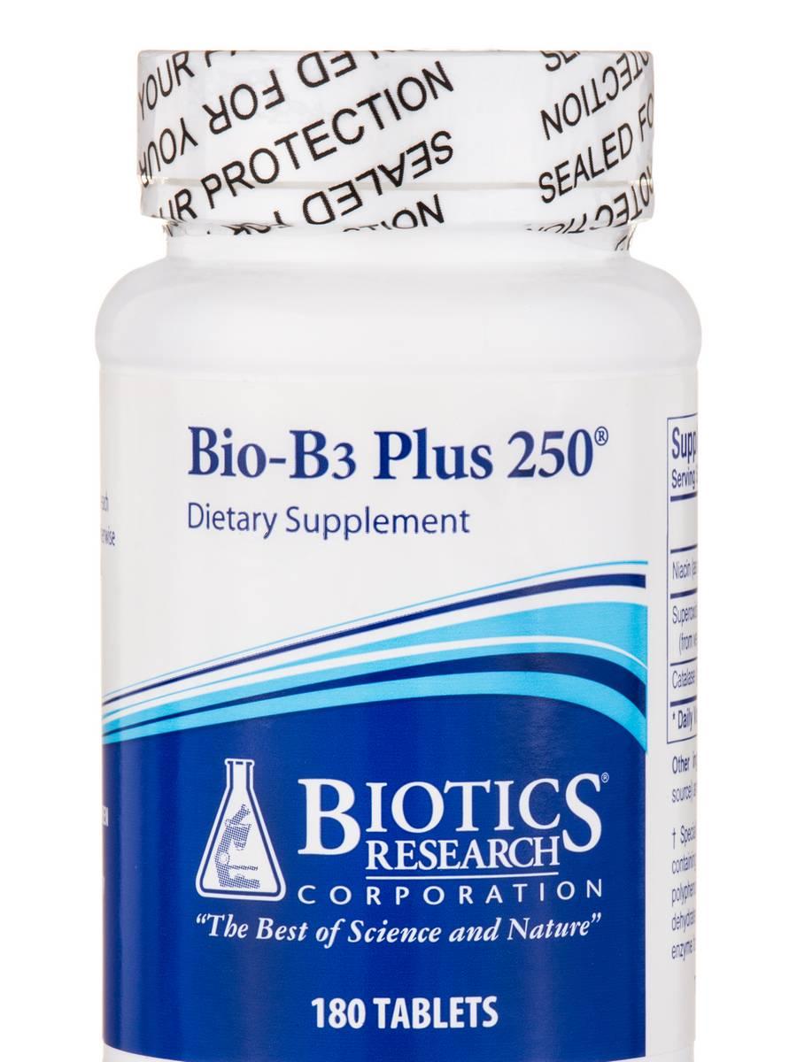 Bio-B3 Plus 250™ - 180 Tablets