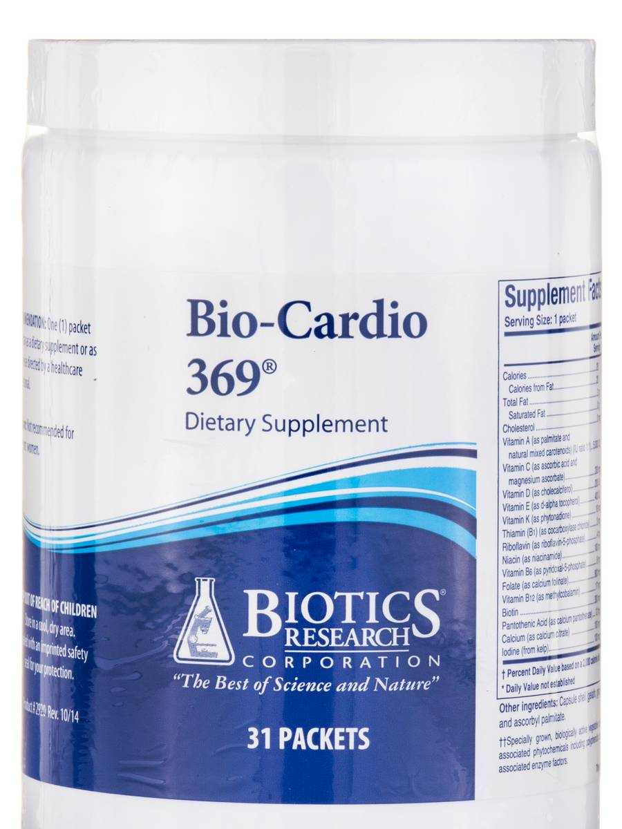 Bio-Cardio 369® - 31 Packets