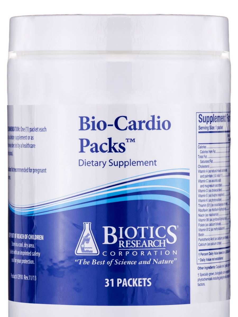 Bio-Cardio Packs - 31 Packets