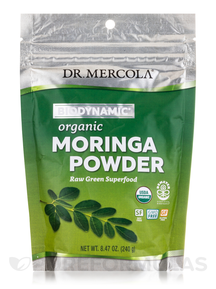 Biodynamic® Organic Moringa Powder - 8.47 oz (240 Grams)