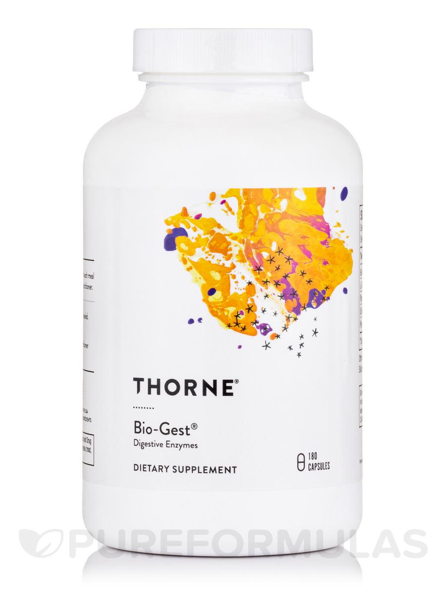 Bio-Gest® (Digestive Enzymes) - 180 Capsules