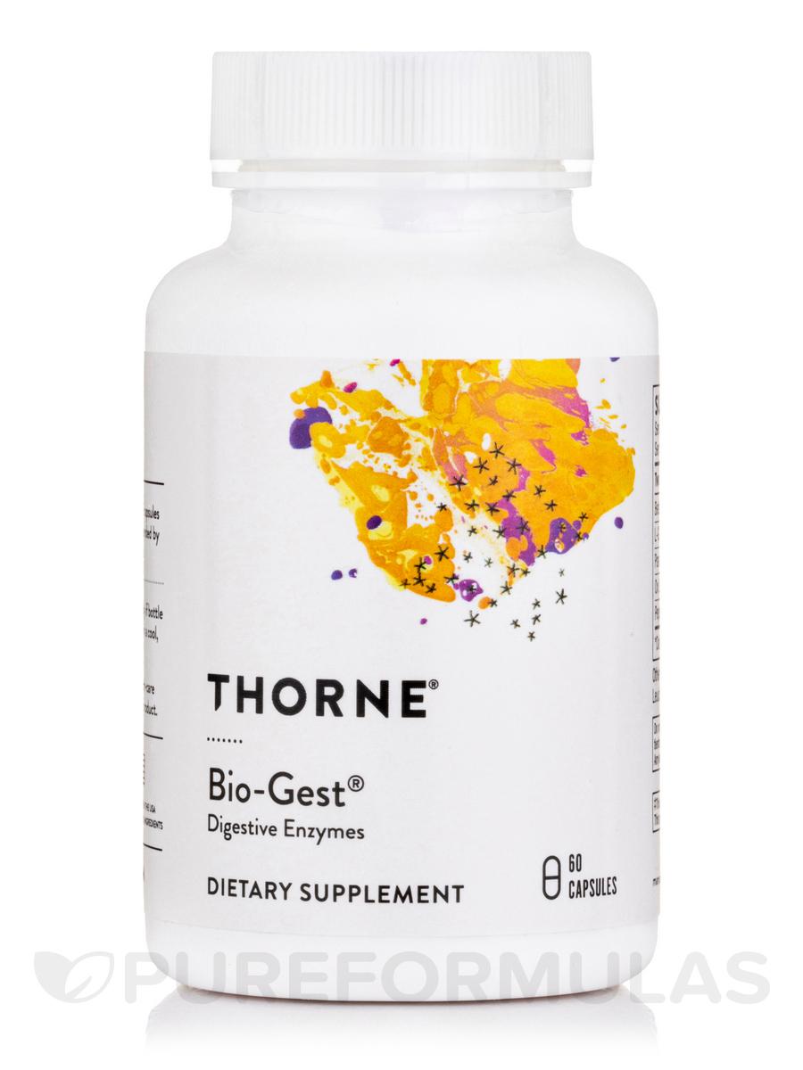 Bio-Gest® - 60 Vegetarian Capsules
