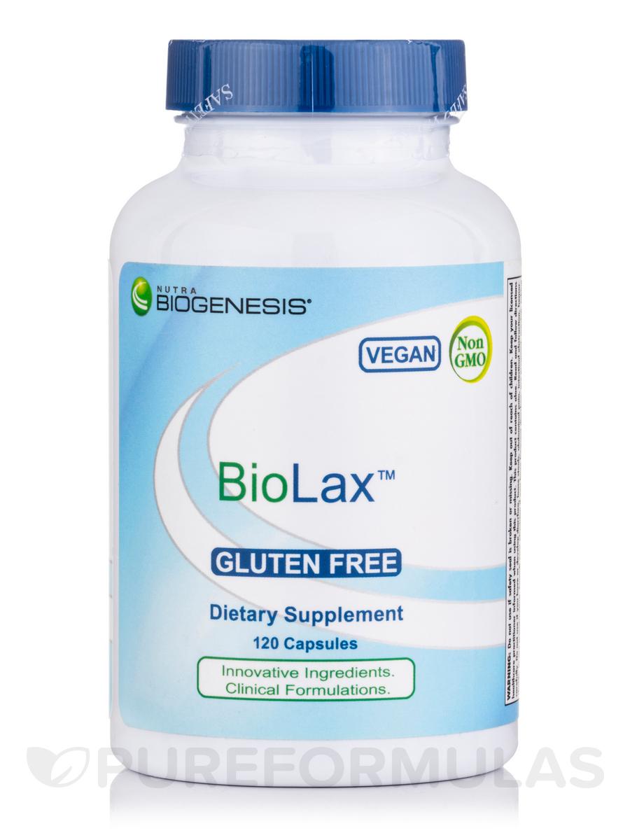 BioLax - 120 Veggie Capsules