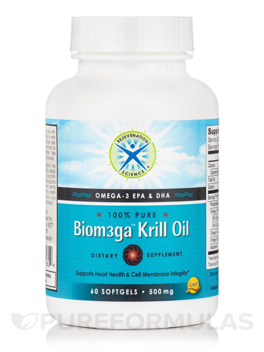 Biom3ga™ Krill Oil 500 mg - 60 Softgels
