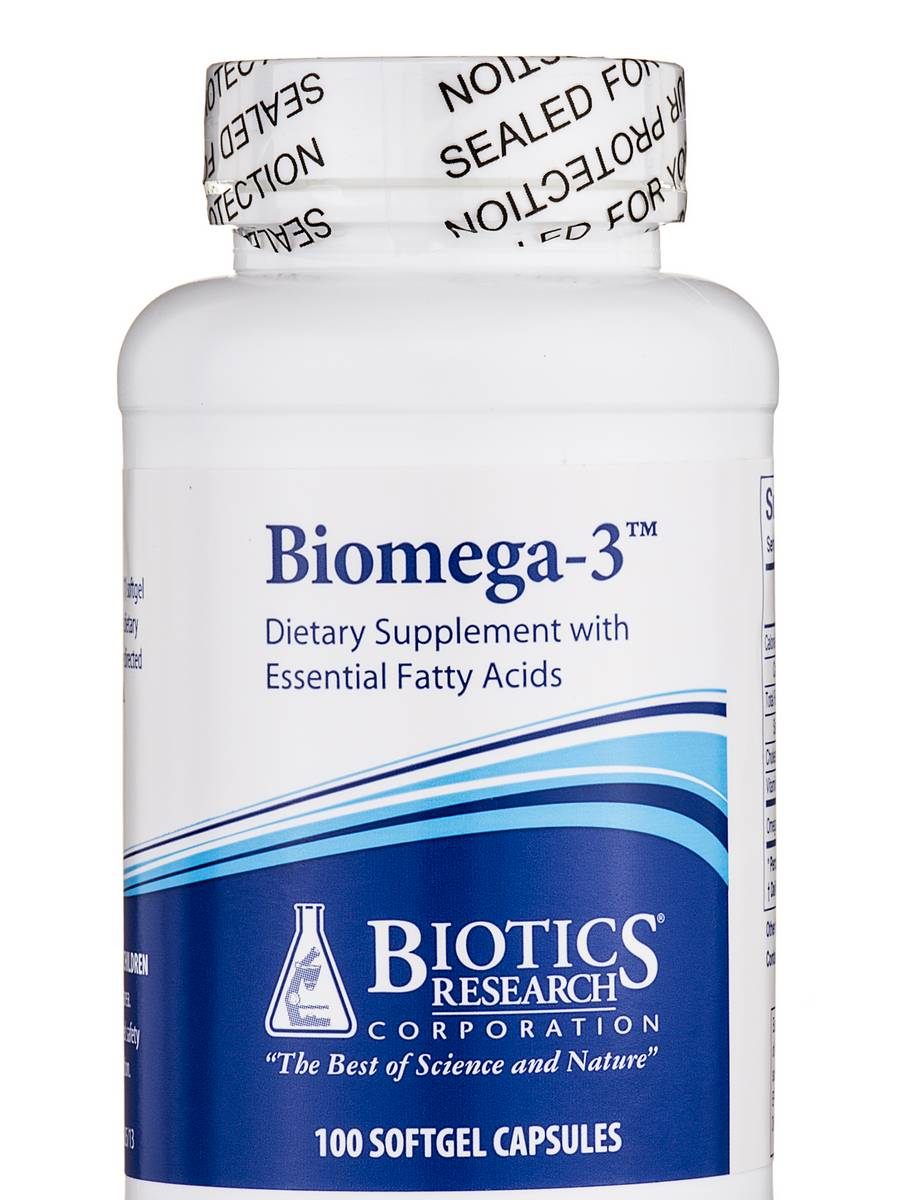 Biomega-3 - 100 Softgel Capsules