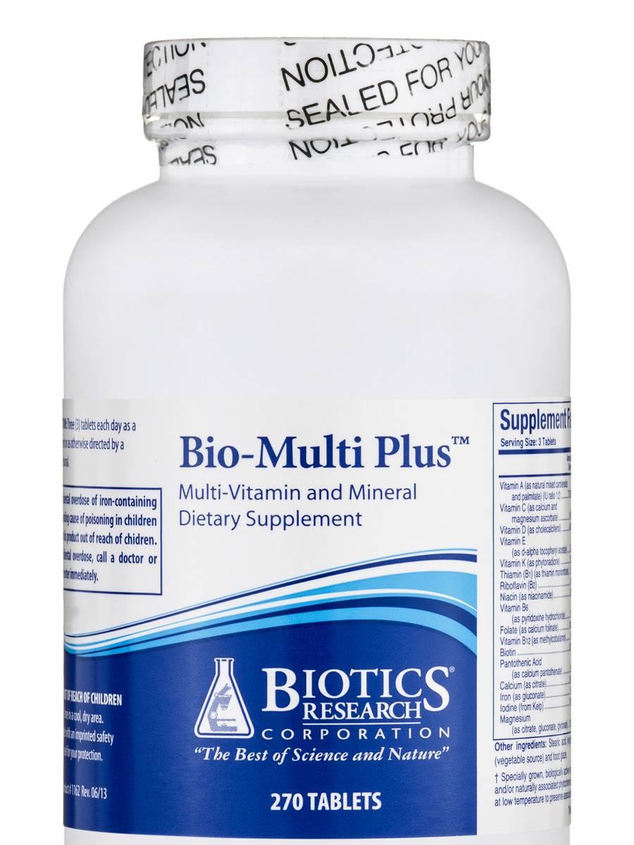 Bio-Multi Plus - 270 Tablets