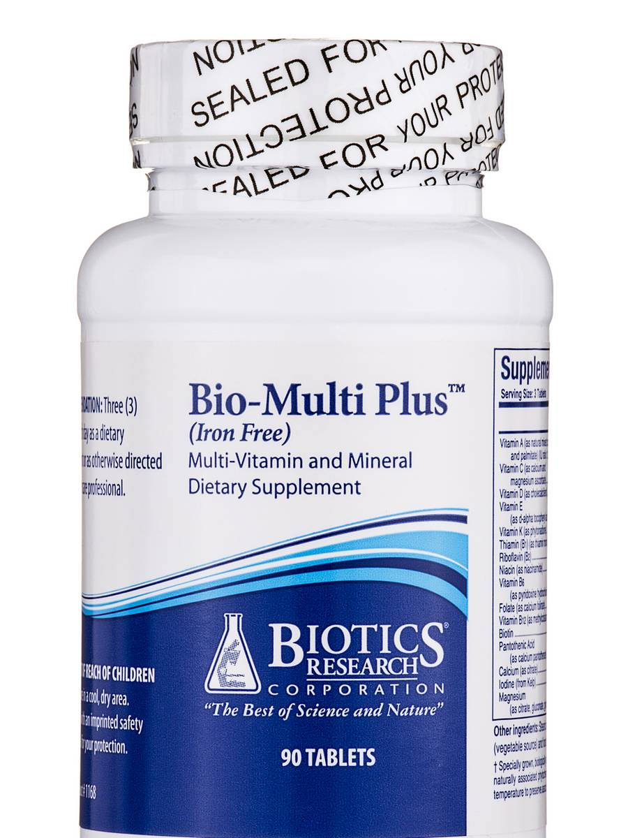 Bio-Multi Plus Iron Free - 90 Tablets