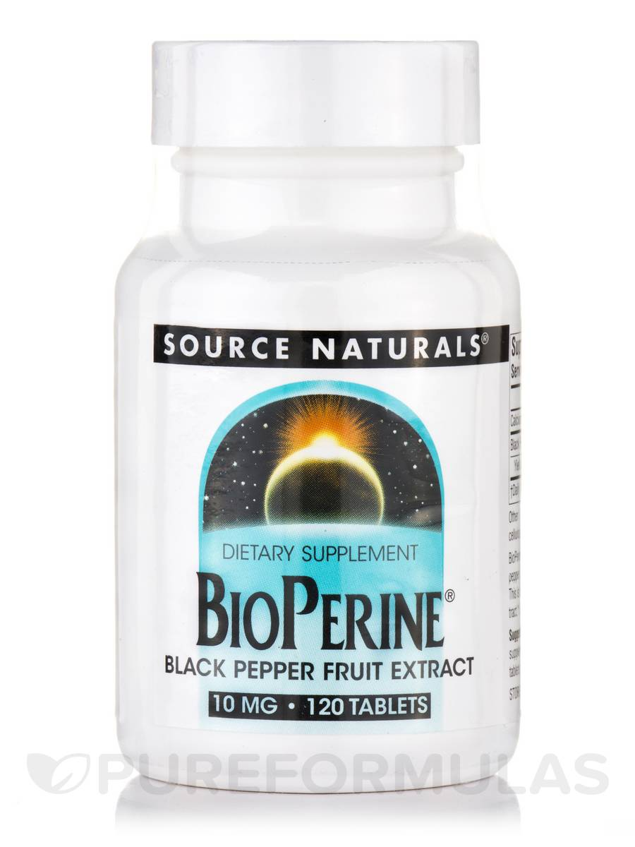 BioPerine® 10 mg - 120 Tablets