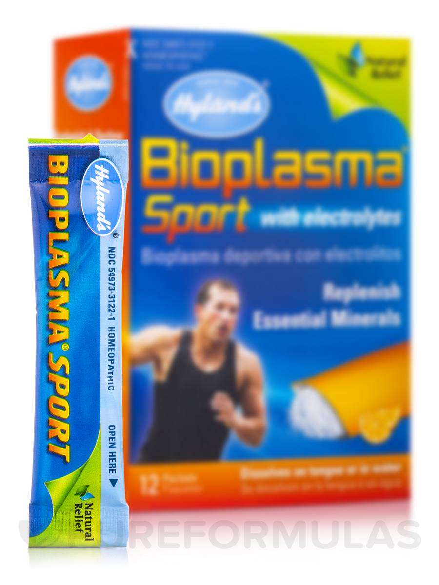 Bioplasma Sport with Electrolytes - 12 Packets