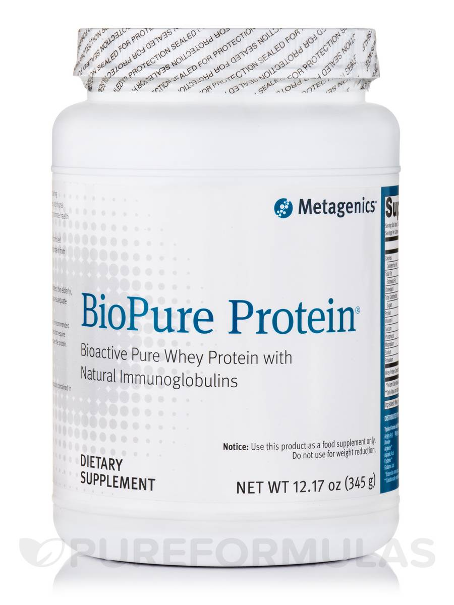 BioPure Protein Powder - 12.17 oz (345 Grams)