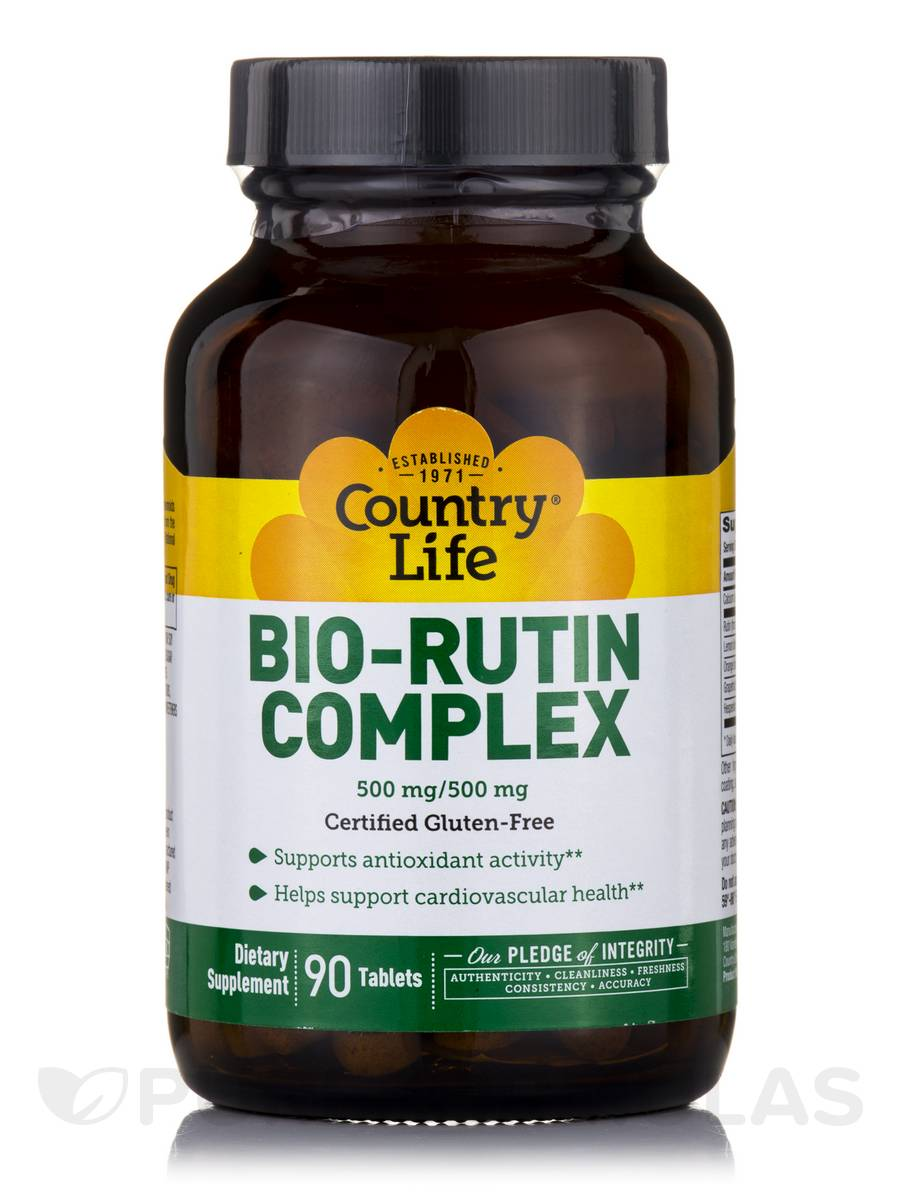 Bio-Rutin Complex with Bioflavonoid - 90 Tablets