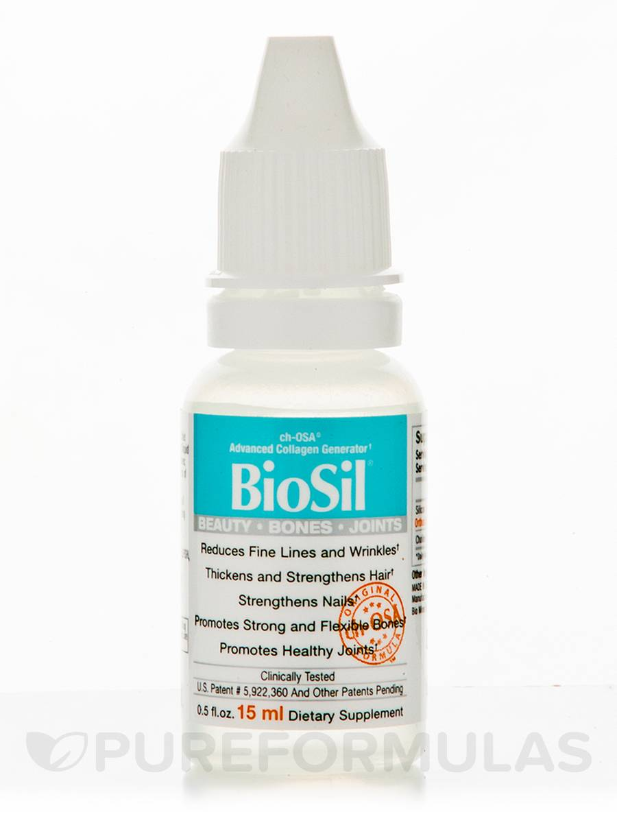 BioSil® Beauty, Bones, Joints - 0.5 fl. oz (15 ml)
