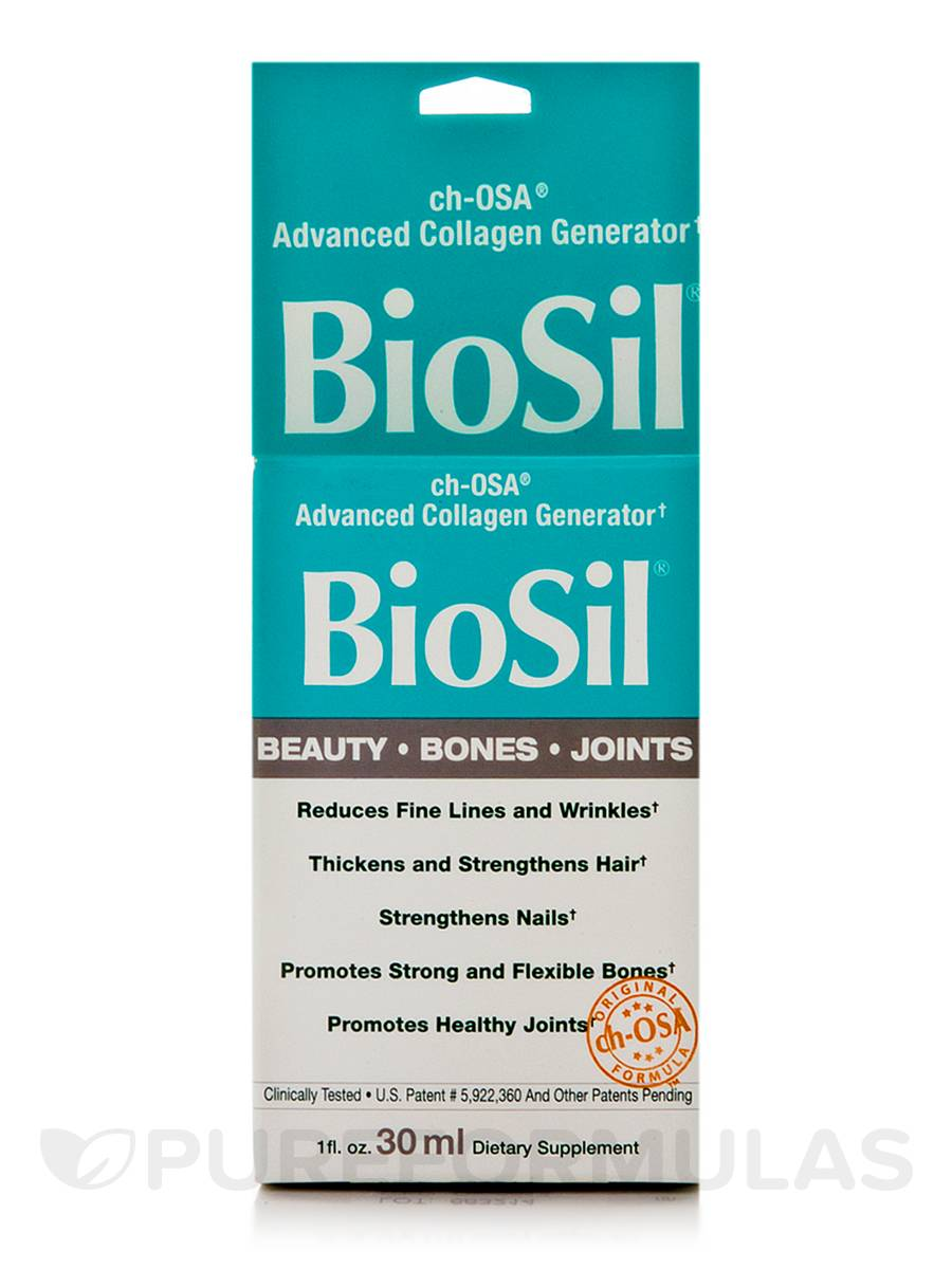 BioSil® Beauty, Bones, Joints - 1 fl. oz (30 ml)