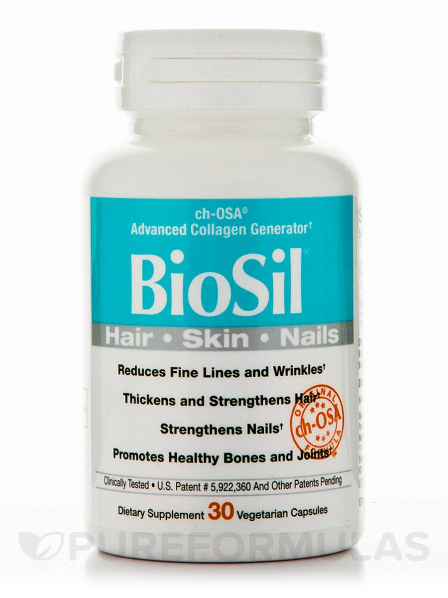 BioSil® Skin, Hair, Nails - 30 Vegetarian Capsules