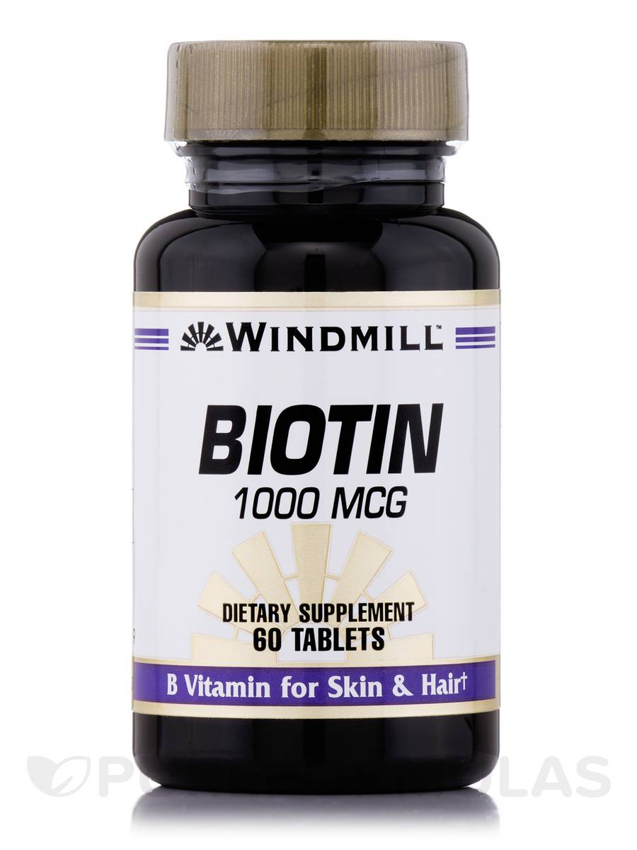 Biotin 1000 mcg - 60 Tablets
