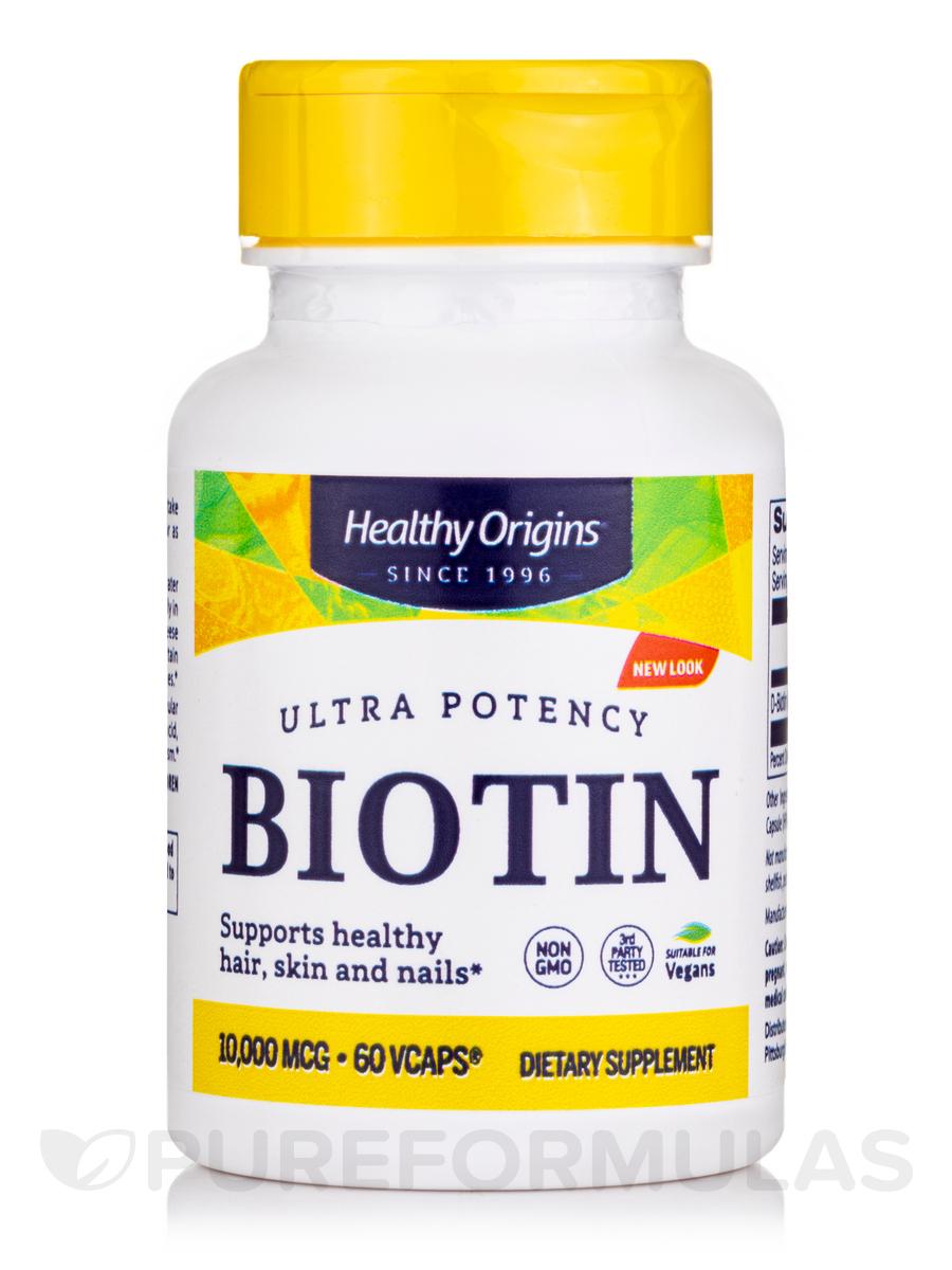 Biotin 10000 mcg - 60 VCaps®