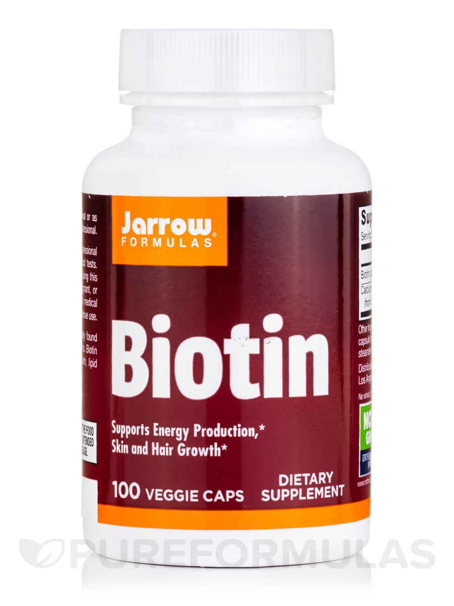 Biotin 5 mg - 100 Capsules