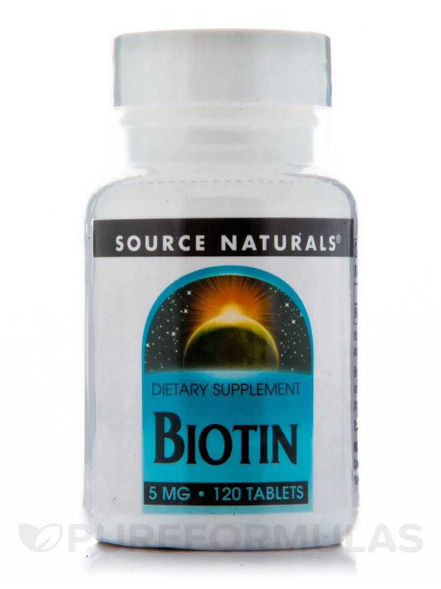 Biotin 5 mg - 120 Tablets