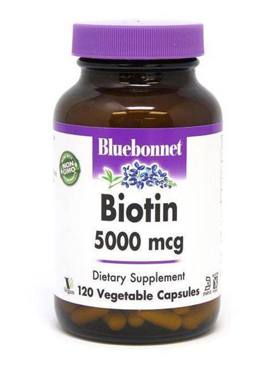 Biotin 5000 mcg - 120 Vegetable Capsules