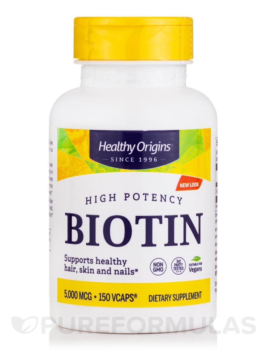 Biotin 5000 mcg - 150 Vcaps®