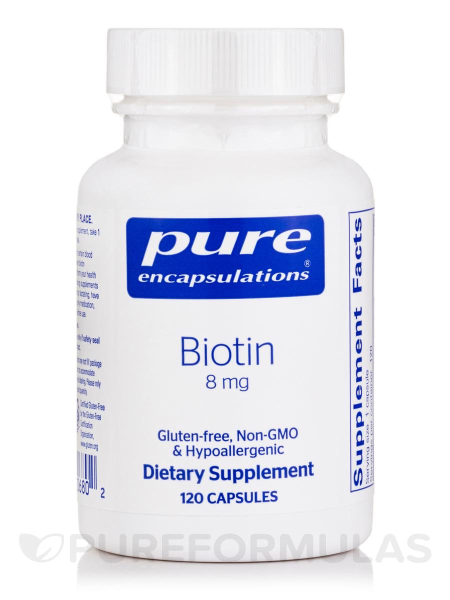 Biotin 8 mg - 120 Capsules