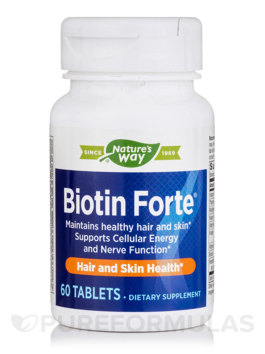 Biotin Forte® 5 mg w/o Zinc - 60 Tablets