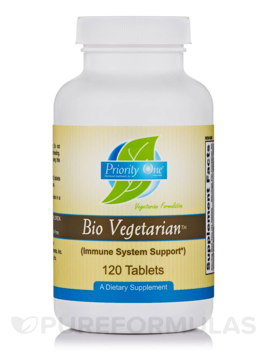 Bio-Vegetarian™ (Immune System Support) - 120 Tablets