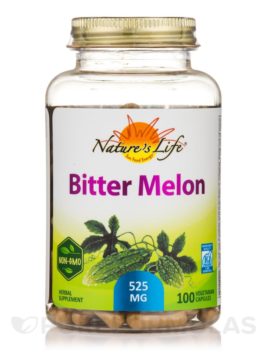 Bitter Melon - 100 Vegetarian Capsules
