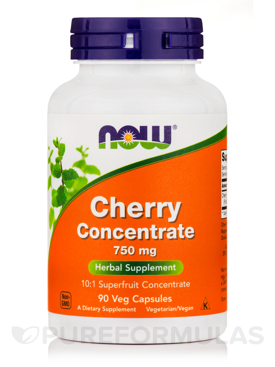 Black Cherry Fruit Extract 750 mg - 90 Vegetarian Capsules