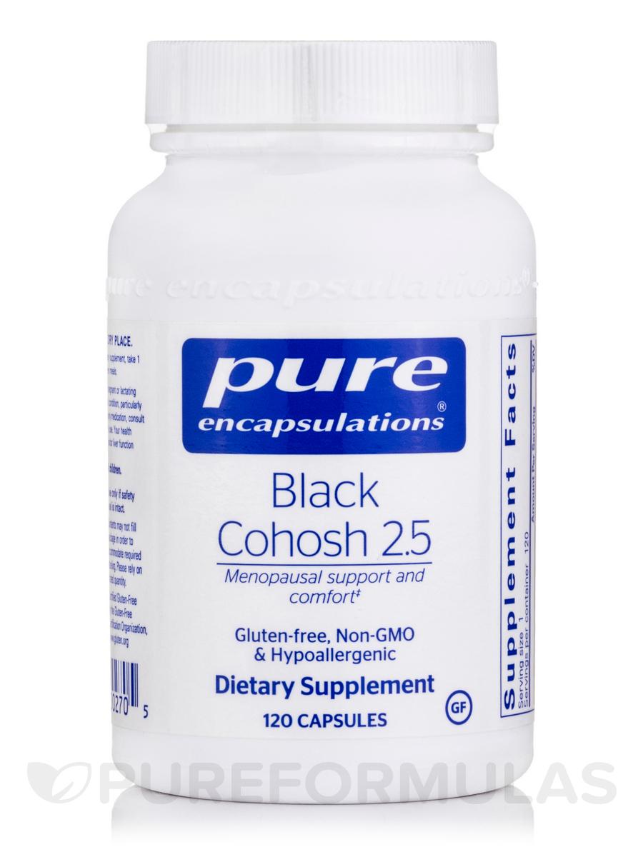 Black Cohosh 2.5 - 120 Capsules