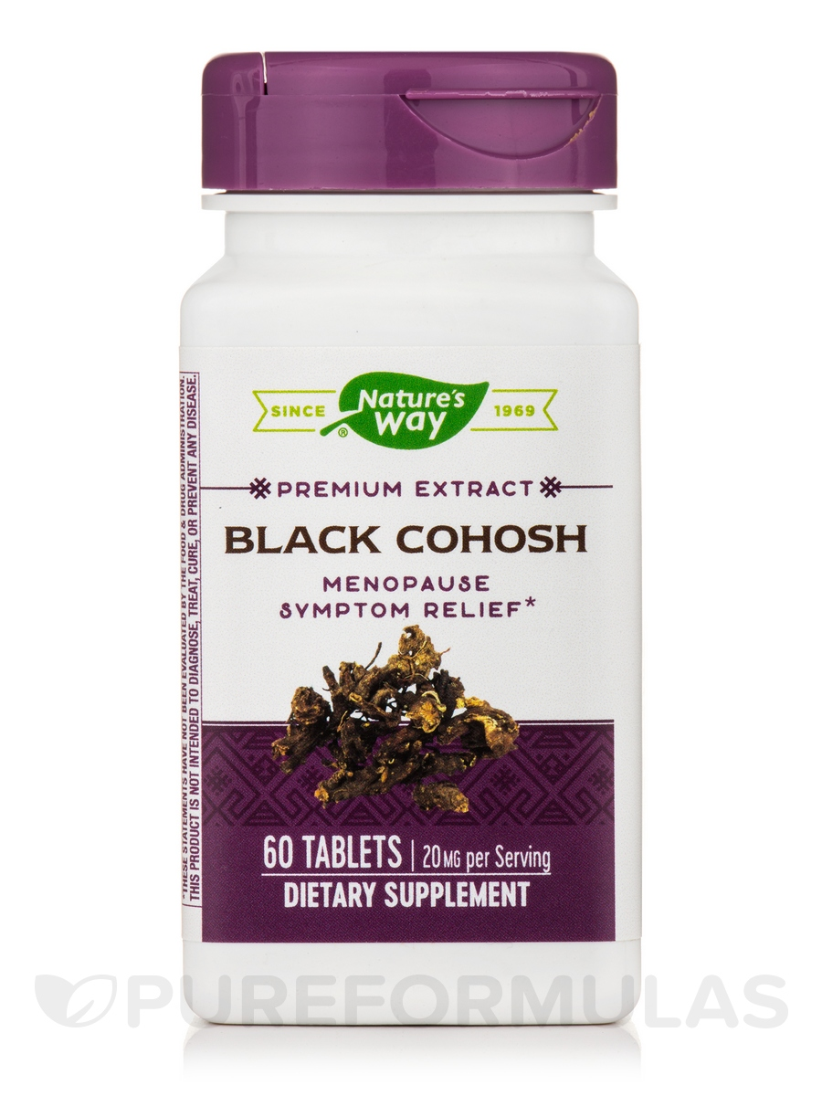 Black Cohosh - 60 Tablets