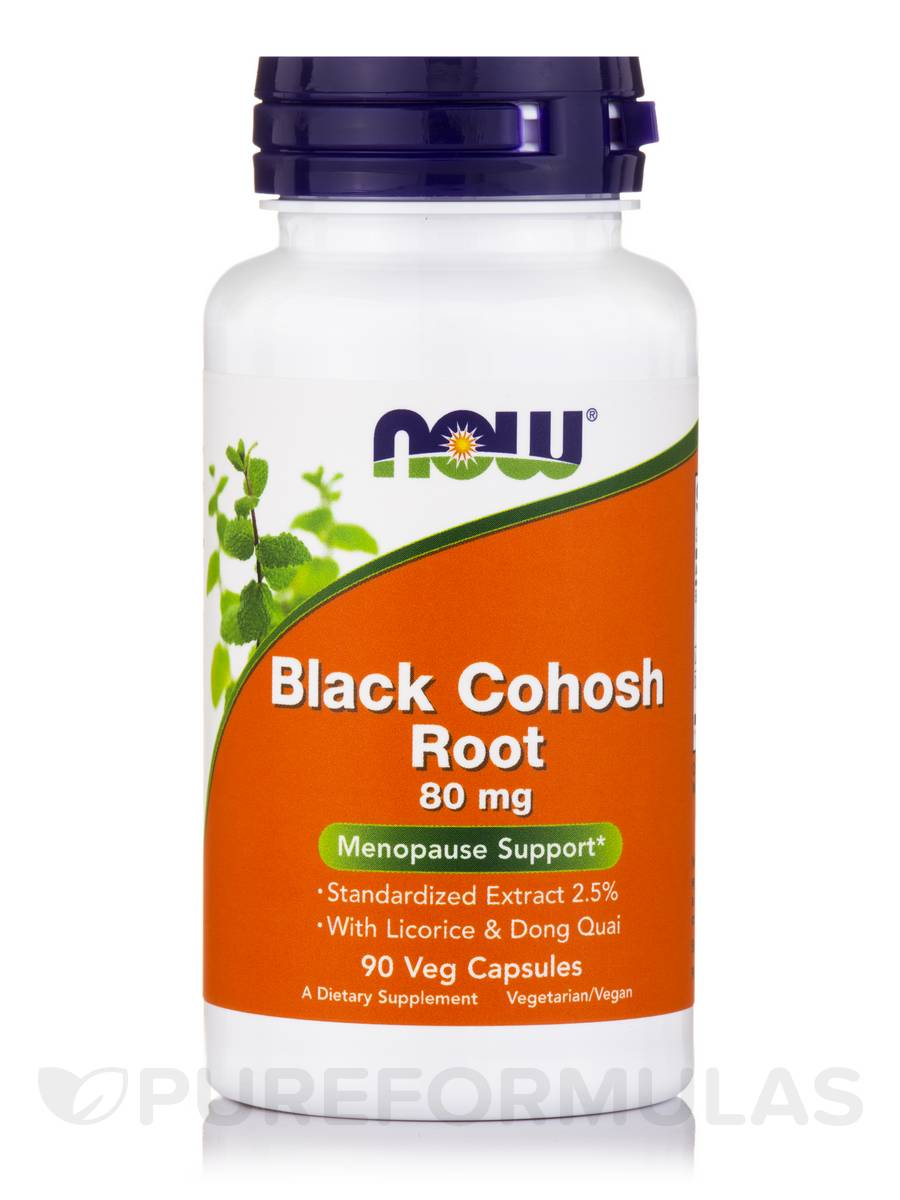 Black Cohosh Root 80 mg - 90 Capsules