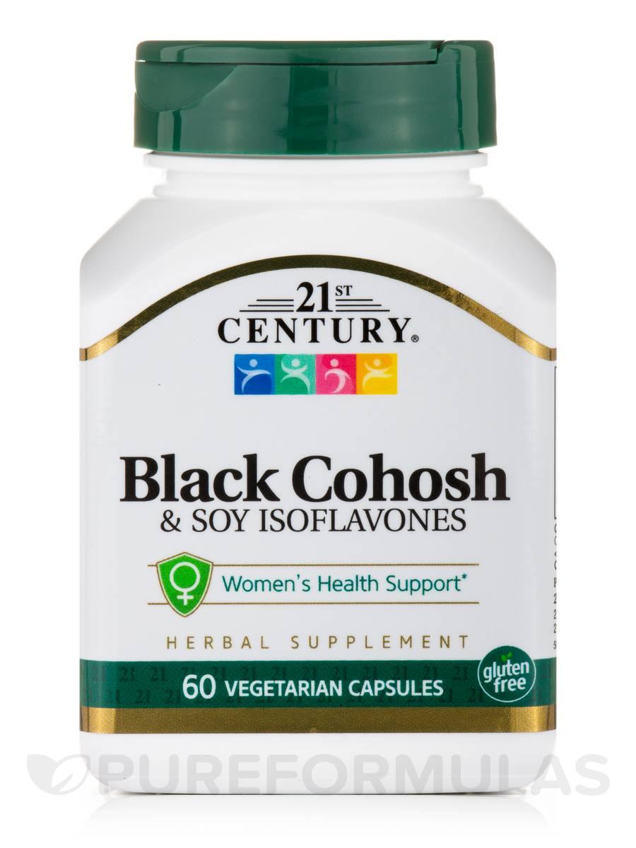 Black Cohosh & Soy Isoflavones - 60 Vegetarian Capsules