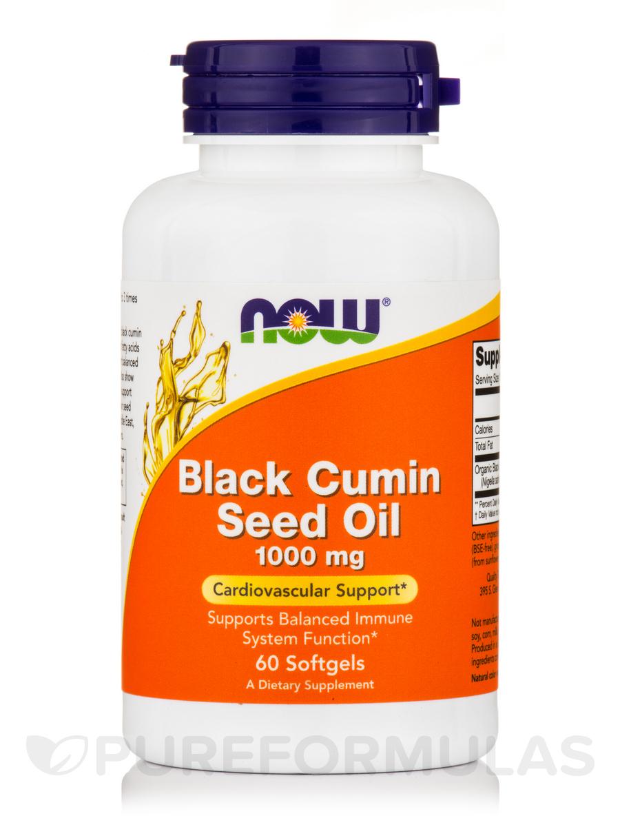 Black Cumin Seed Oil 1000 mg - 60 Softgels