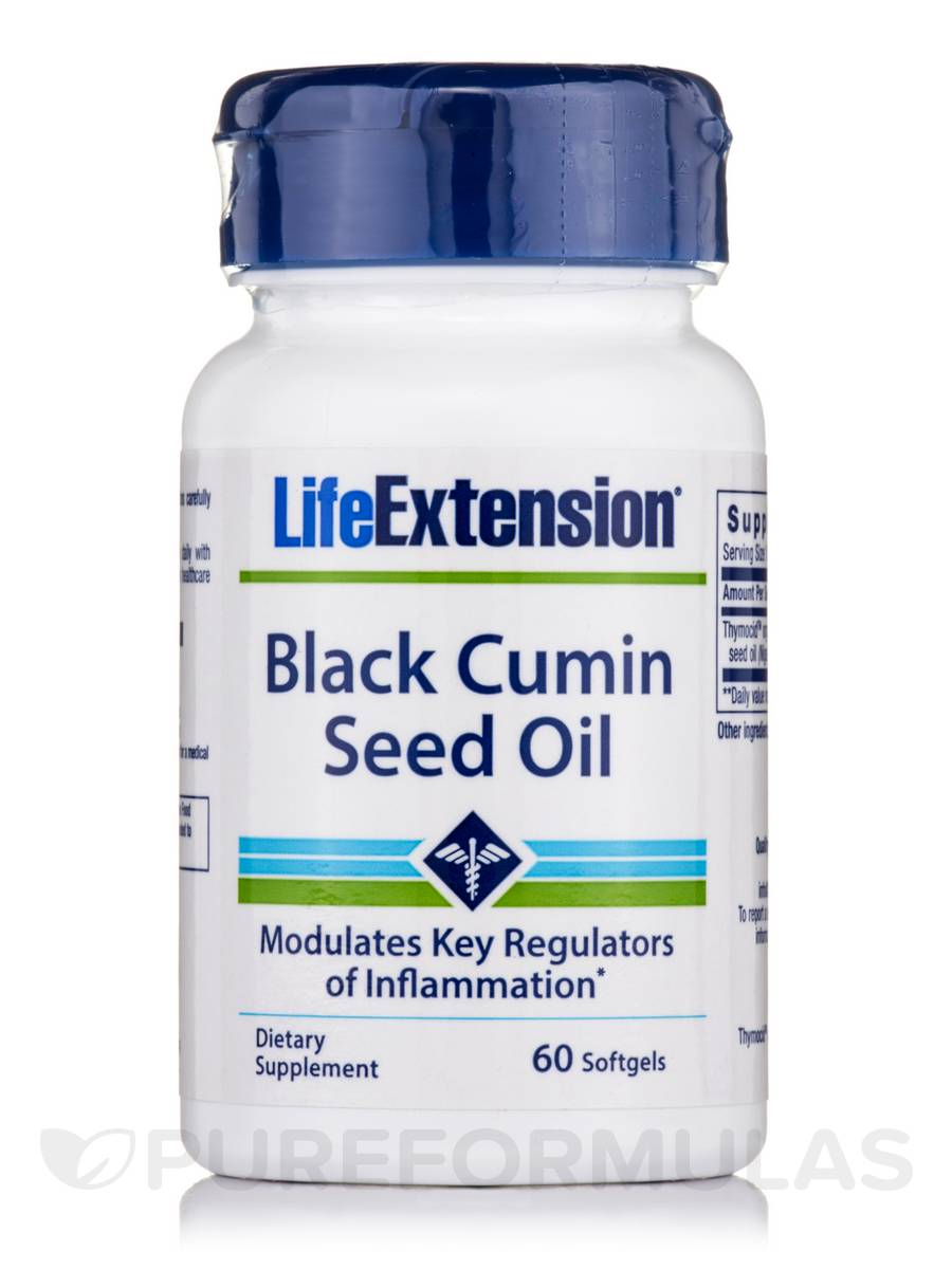 Black Cumin Seed Oil - 60 Softgels