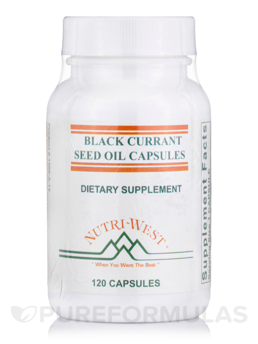 Black Currant Seed Oil - 120 Capsules
