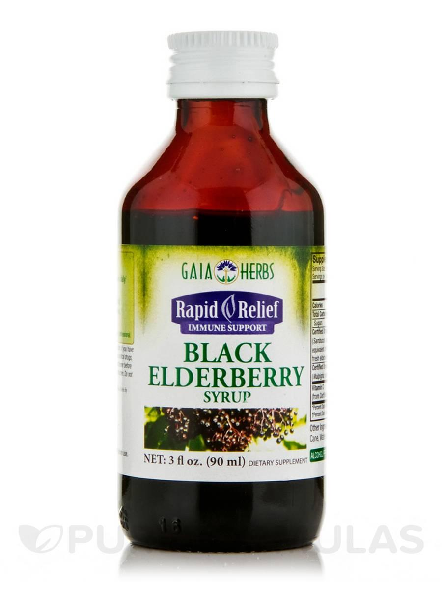 Black Elderberry Syrup - 3 fl. oz (90 ml)