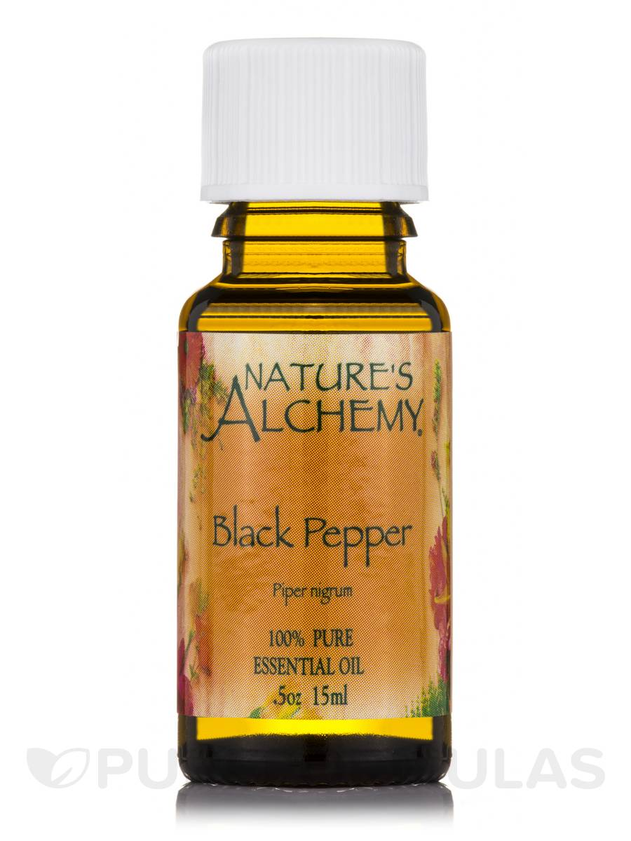 Black Pepper Essential Oil - 0.5 oz (15 ml)