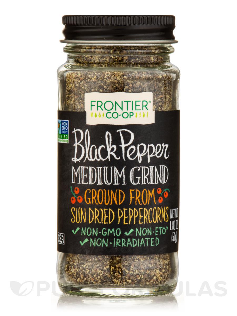Black Pepper, Medium Grind - 1.80 oz (51 Grams)