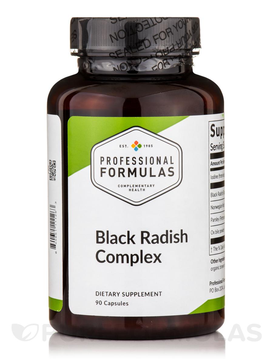 Black Radish Complex - 90 Capsules